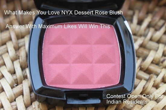 swatches NYX Sobremesa Rose Blush