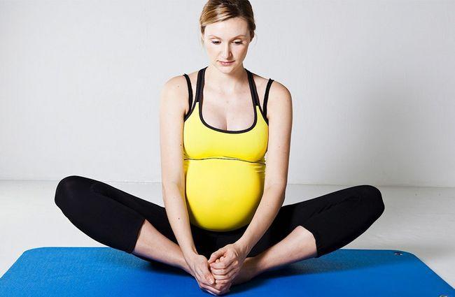 Asanas: fácil yoga mas importante representa para as mulheres grávidas