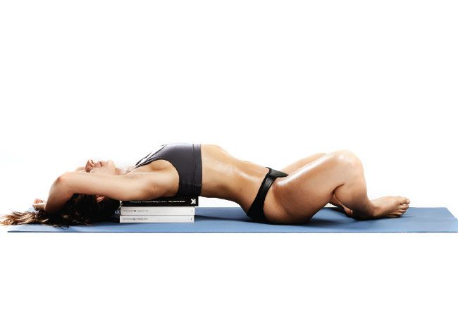 Yoga: reclináveis ângulo limite representam